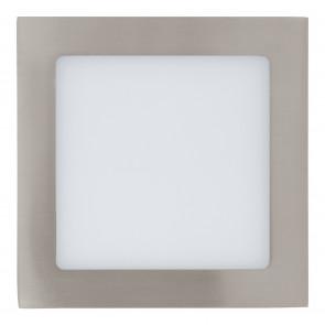Fueva 1 4000K 17 x 17 cm nickel-matt 1-flammig quadratisch