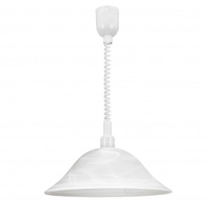 Luminaire EGLO démodé gris|blanche