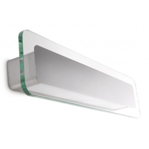 Luminaire Philips moderne métallique|transparent