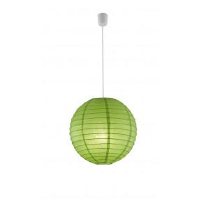 Luminaire Trio asiatique vert