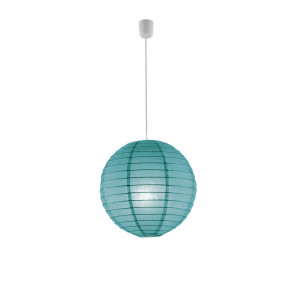 Luminaire Trio asiatique turquoise