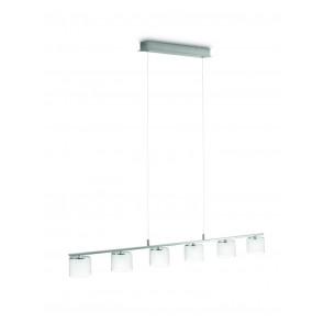 Luminaire Philips moderne chrome métallique