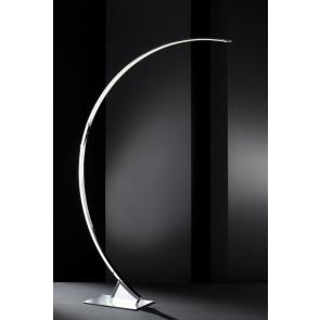 Luminaire Wofi futuriste chrome|blanche