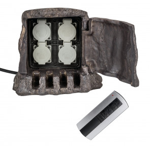 Luminaire Heitronic  marron