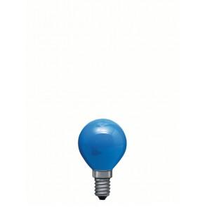 E14 25W 4.5cm, bleu