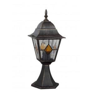Luminaire Brilliant antique or|noire