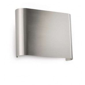 Galax, couleur aluminium, largeur 13,3cm