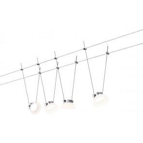 Luminaire Paulmann moderne chrome|blanche
