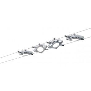 Luminaire Paulmann moderne chrome métallique