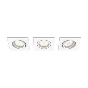 Luminaire Philips moderne argent