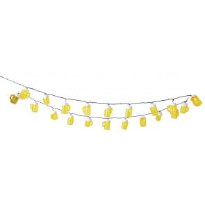 Luminaire Näve moderne jaune