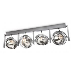Luminaire Philips moderne gris|métallique
