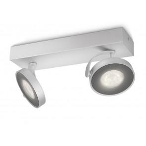 Luminaire Philips moderne gris métallique