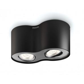 Luminaire Philips moderne noire