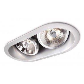 Milout, gris, 2-lampes