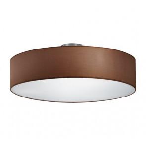 Luminaire Trio moderne marron|métallique