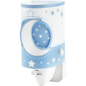 Luminaire Dalber fantaisie bleu|blanche