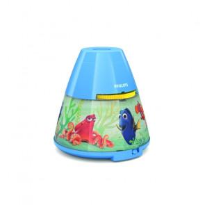 Luminaire Philips fantaisie bleu|multicolore