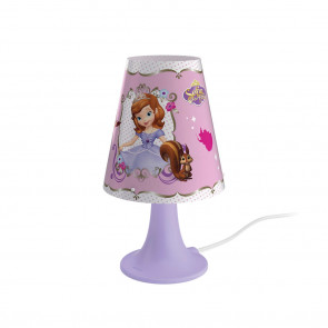 Luminaire Philips fantaisie rose vif|argent|violette