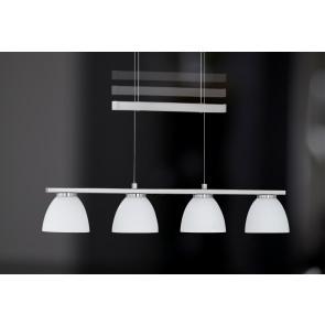 Luminaire Wofi moderne métallique|blanche