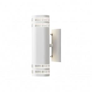Modena, 2-lampes, hauteur 28,5 cm, blanc