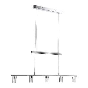 Maar, 5-lampes, Suspension longueur 150 cm