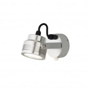 Luminaire Konstsmide moderne métallique|argent