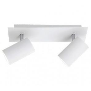 Luminaire Trio moderne métallique|blanche