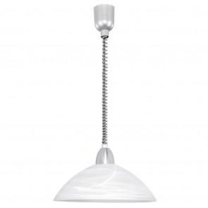 Luminaire EGLO démodé métallique|blanche