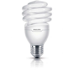 lampe à économie d´énergie Tornado, E27, blanc chaud, 10.000 Std., 23W