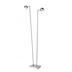 Bling, LED, 2-flammig, Höhe 140 cm, dimmbar, mit Schalter, metallisch