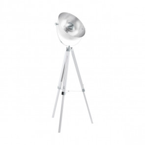 Luminaire EGLO moderne chrome|argent|blanche