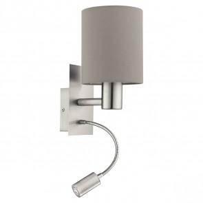 Luminaire EGLO moderne marron|gris|métallique