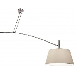 Luminaire Sompex moderne métallique|blanche