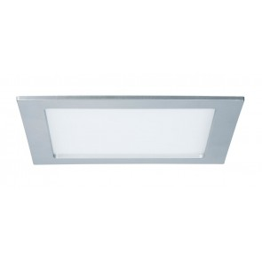 Quality EBL Set Panel eckig LED 1x18W 4000K 230V 220x220mm Chr m/Kunststoff