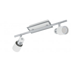 Luminaire EGLO moderne chrome blanche