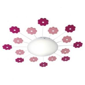 Luminaire EGLO fantaisie rose vif blanche