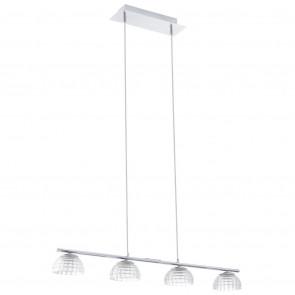 Luminaire EGLO moderne chrome|transparent