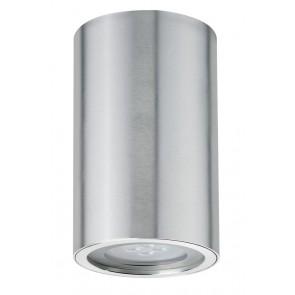 Premium ABL lot aluminium Barrel IP44 rond 1x4,5W GU10 84mm aluminium anodisé aluminium