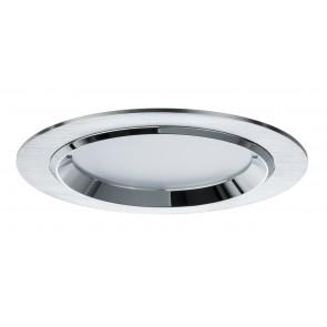 Premium EBL lot Dot rond LED 3x8W 36VA 230V/700mA 150mm aluminium brosséaluminium/verre