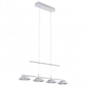 Luminaire EGLO moderne chrome|blanche