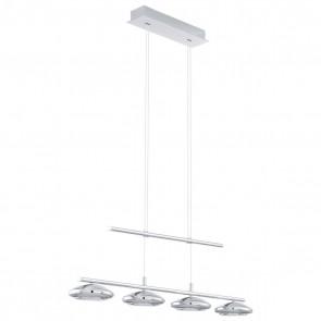 Tarugo, chrome, 4-lampes