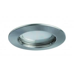 Premium EBL lot Coin sat rond rigide LED 1x6,8W 2700K 230V 51mm fer g/aluminium zinc
