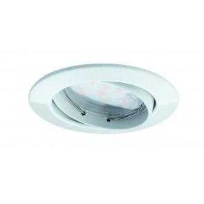 Premium EBL lot Coin dim klr rd schw LED 3x7W 2700K 230V 51mm Ws mat/aluminium zinc