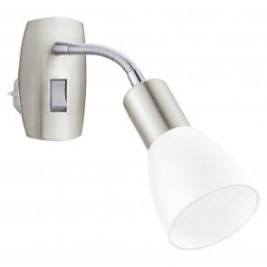 Luminaire EGLO moderne chrome|métallique|blanche
