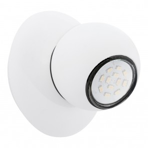 Norbello 3, LED, 1-lampe, diamètre 12 cm, blanc