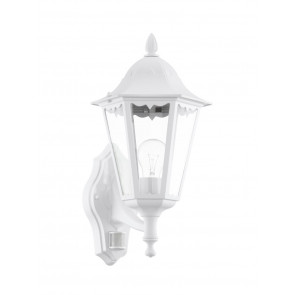 Luminaire EGLO démodé transparent|blanche