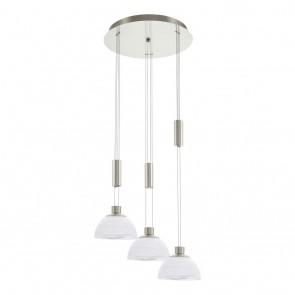 Montefio, 3-lampes, rond