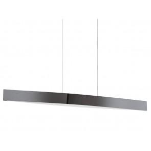 Fornes, LED, Länge 97 cm, nickel-nero