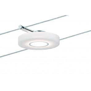 Wire Systems DC Spot DiscLED I 1x4W chrome/Satin 12V DC plastique